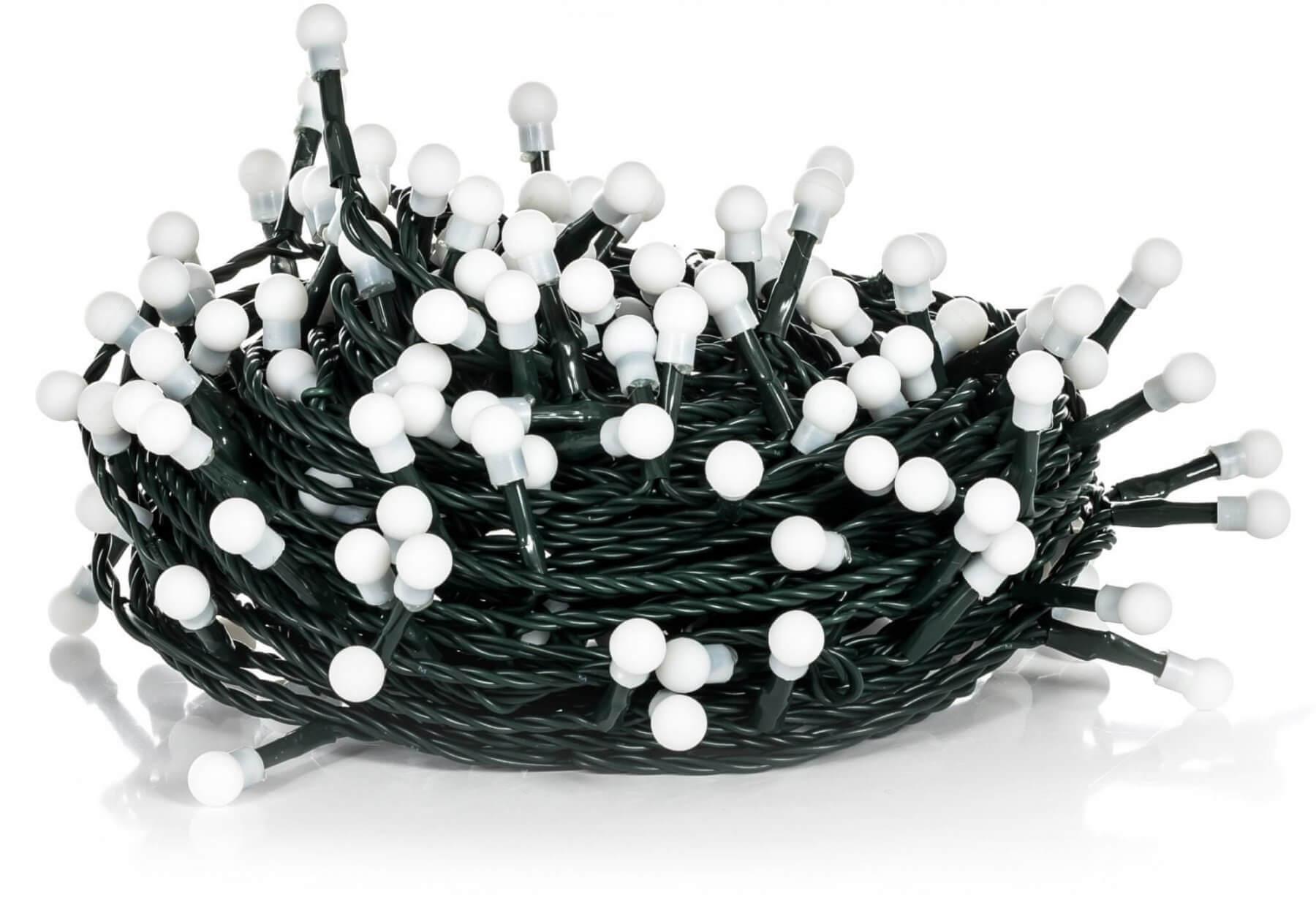 Retlux Świąteczny łańcuch 100 LED, okrągłe lampki, RLX 220