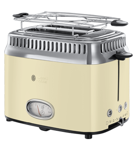 Toster Russell Hobbs Retro Vintage Cream 21682-56