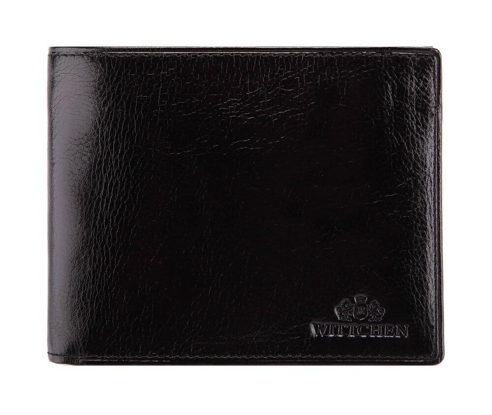 d89b31941ca2a Średni portfel męski Wittchen Italy (czarny)