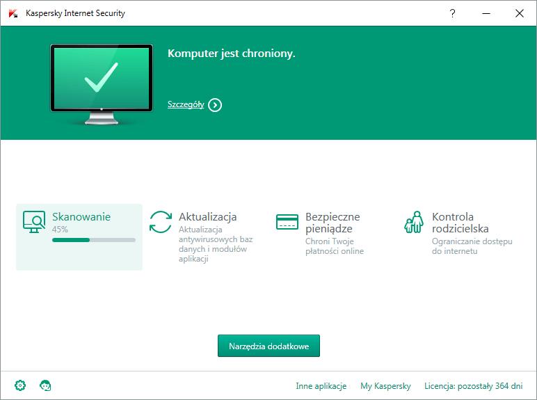 Program antywirusowy Kaspersky Internet Security Multi-Device