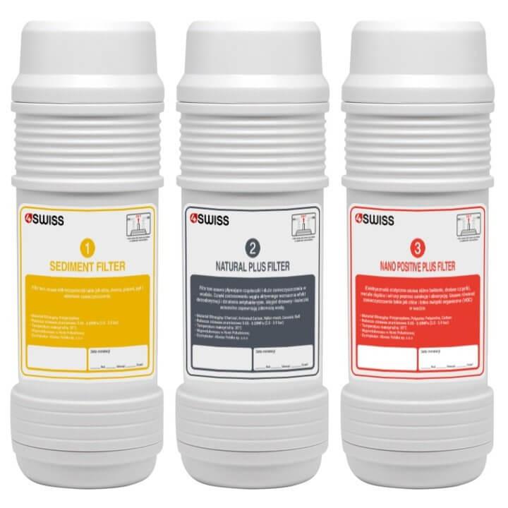 Domowy System Filtrowania Wody 4Swiss WFF021 - czarny