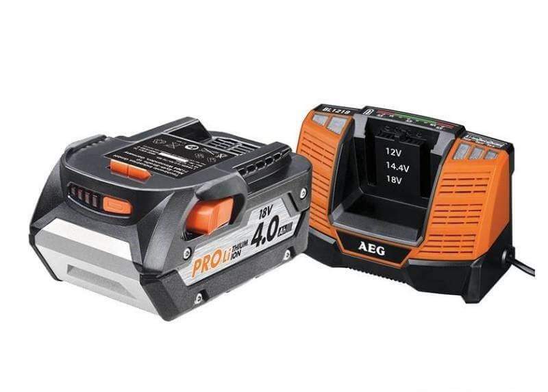 Akumulator AEG L1840BL 18V + ładowarka  BL1218