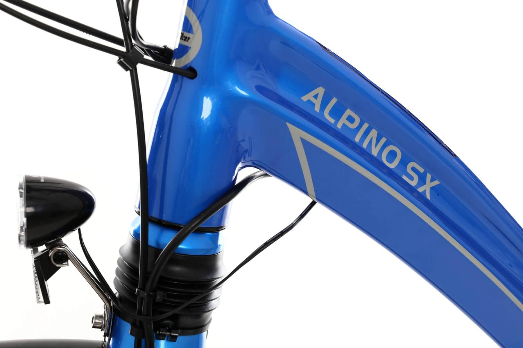 Rower elektryczny GEOBIKE Alpino SX / bateria 10 Ah