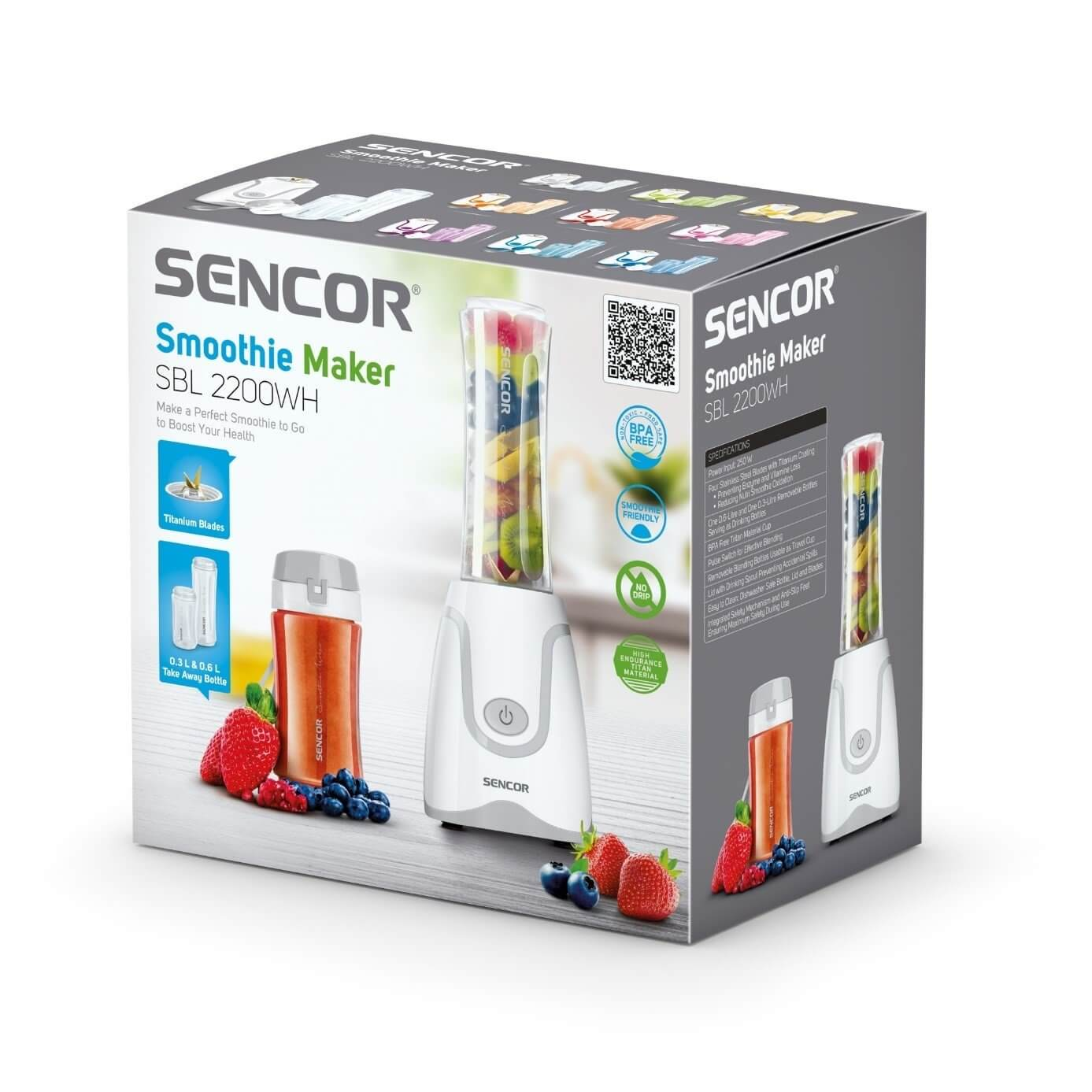 Blender Smoothie Sencor SBL 2200WH