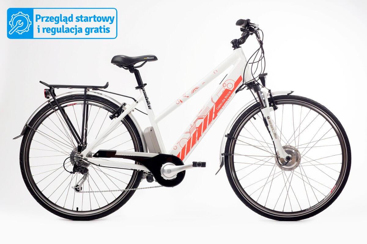 Trekkingowy rower elektryczny GEOBIKE Cabo de Roca / bateria 11,6 Ah
