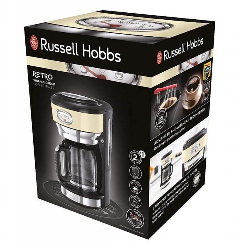 Ekspres do kawy Russell Hobbs Retro Vintage Cream 21702-56