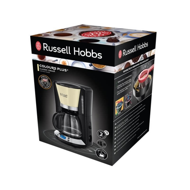 Ekspres do kawy Russell Hobbs Colours Plus Classic Cream