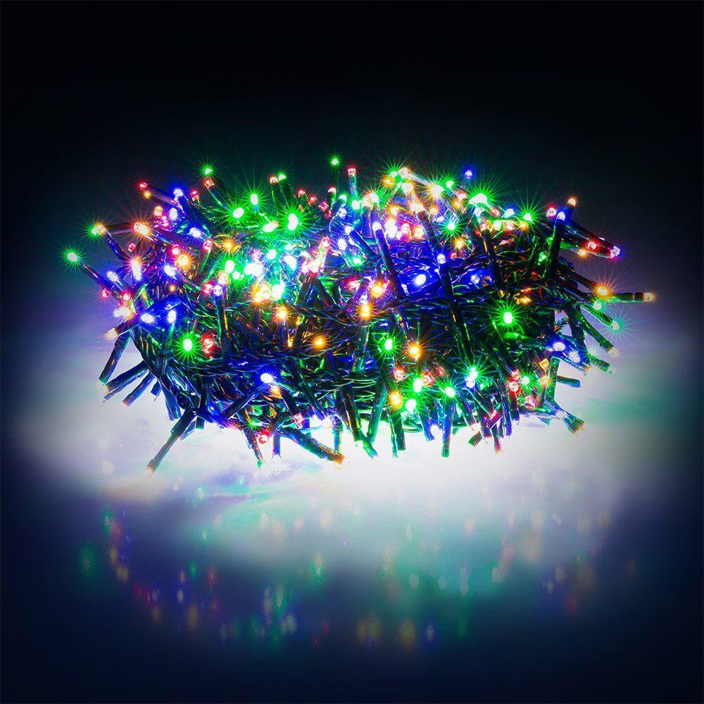 Świąteczny łańcuch świetlny Retlux intensywny 600 LED
