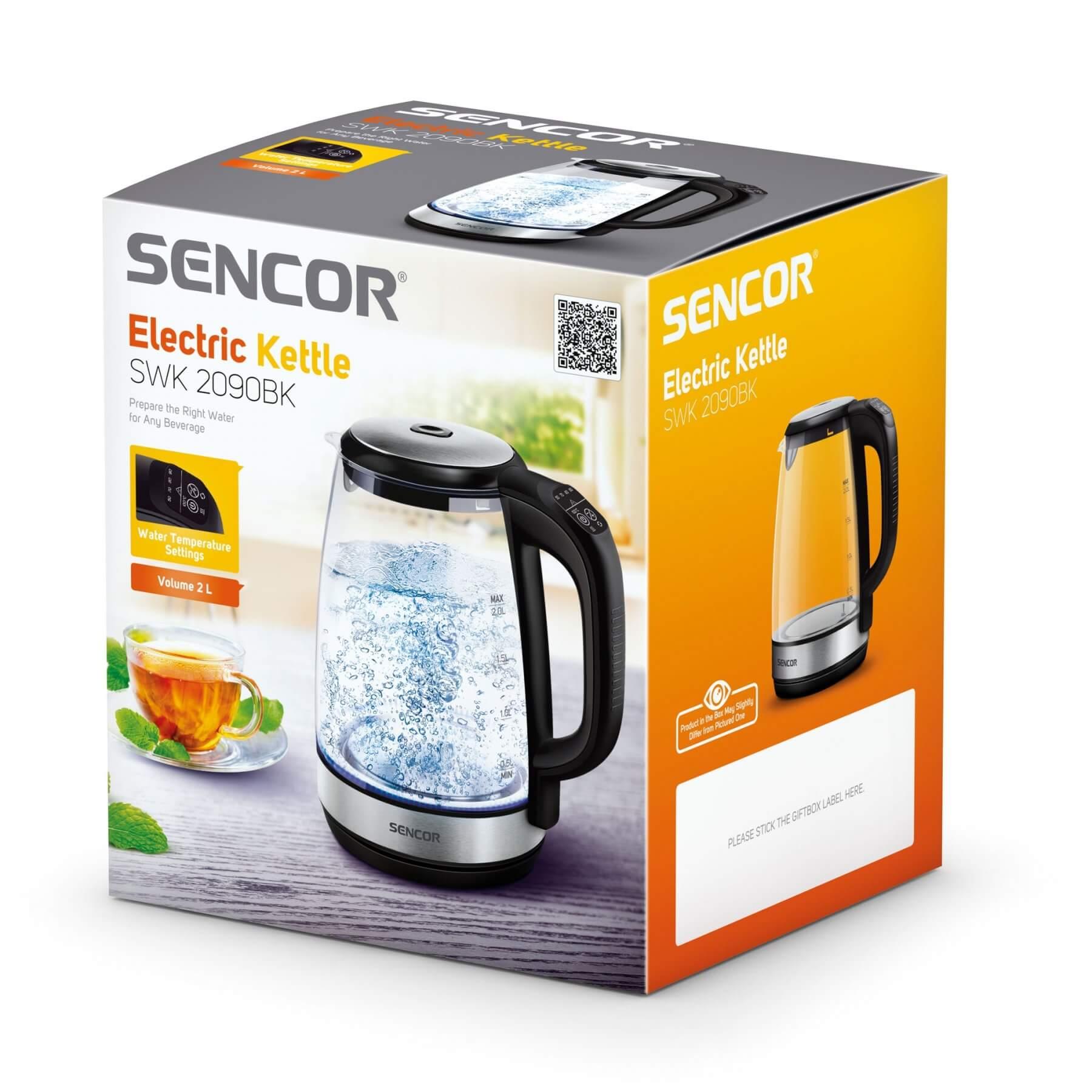 Czajnik elektryczny Sencor SWK 2090BK