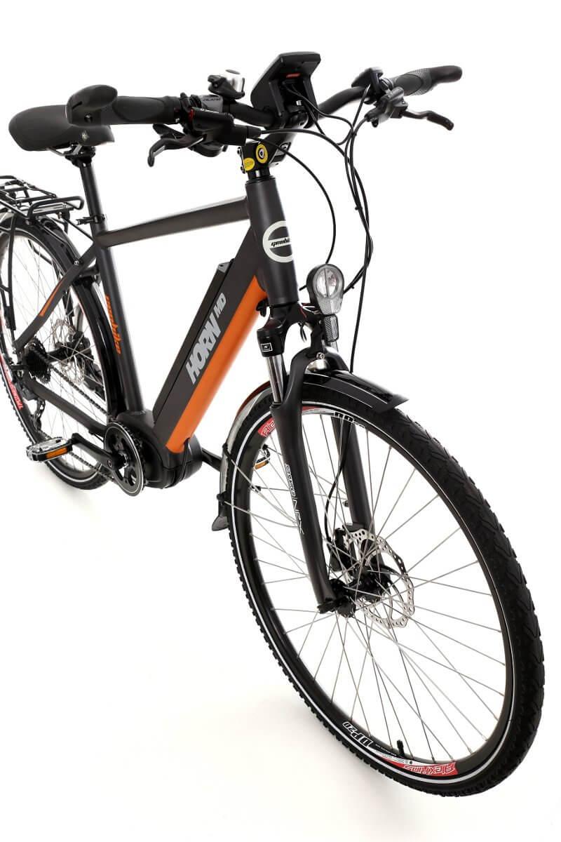 Trekkingowy rower elektryczny GEOBIKE Horn MD / bateria 10,4 Ah