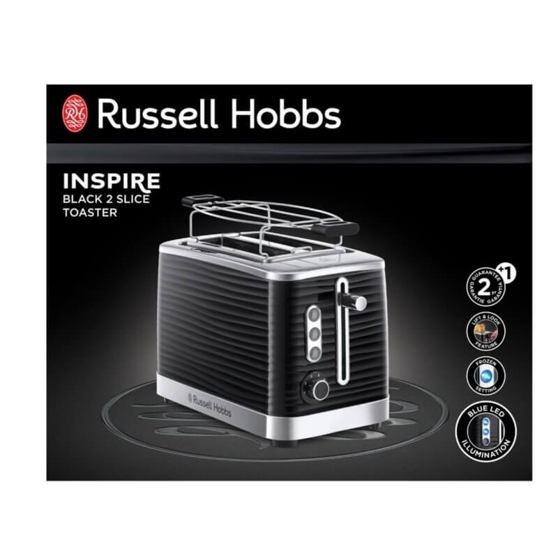 Toster Russell Hobbs Inspire Black