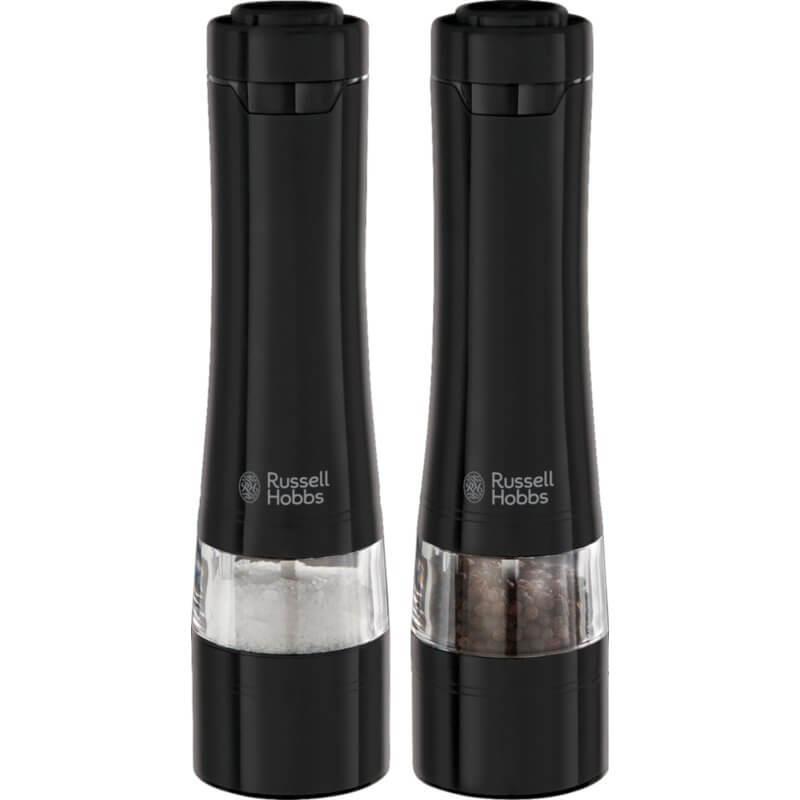 Zestaw młynków do soli i pieprzu Russell Hobbs Black 28010-56