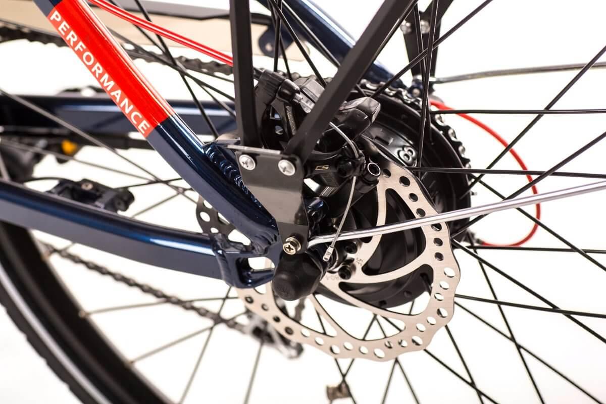 Trekkingowy rower elektryczny GEOBIKE Per4mance / bateria 10,4 Ah