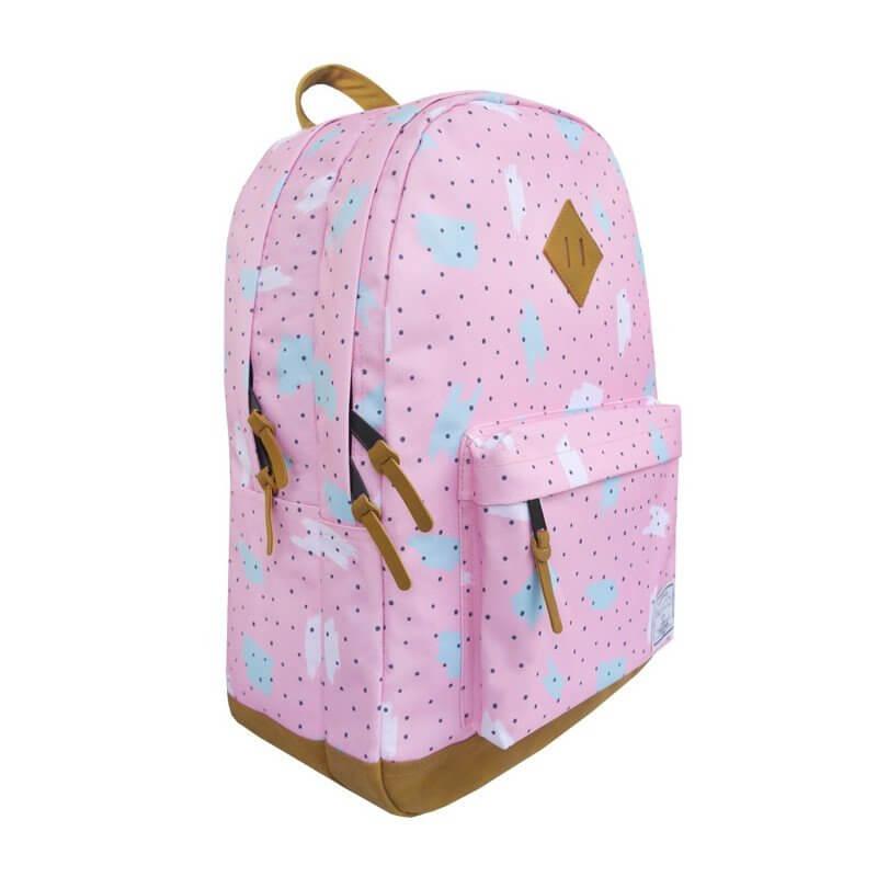 Plecak 27l w romantycznie różowym kolorze