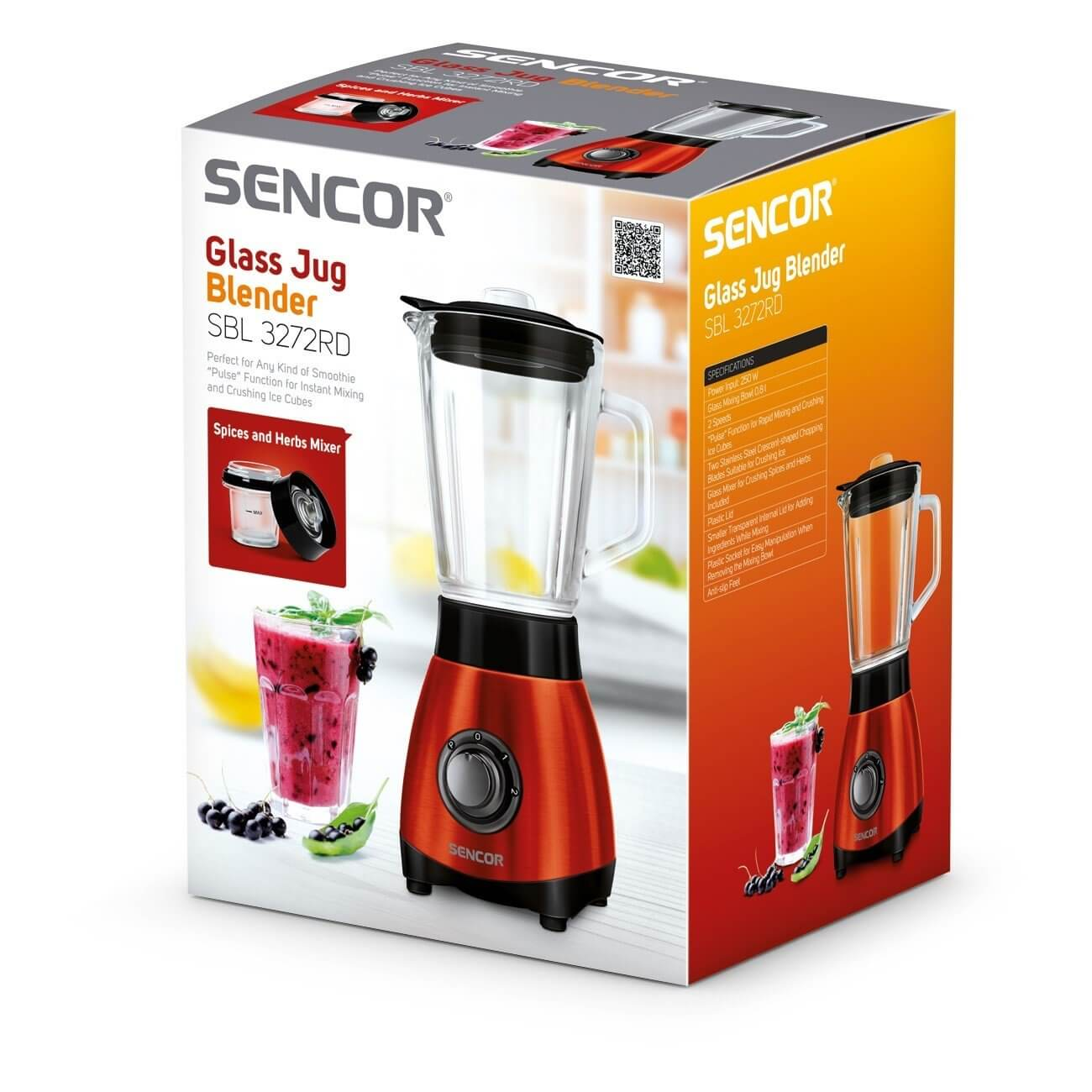 Blender kielichowy Sencor SBL 3272RD