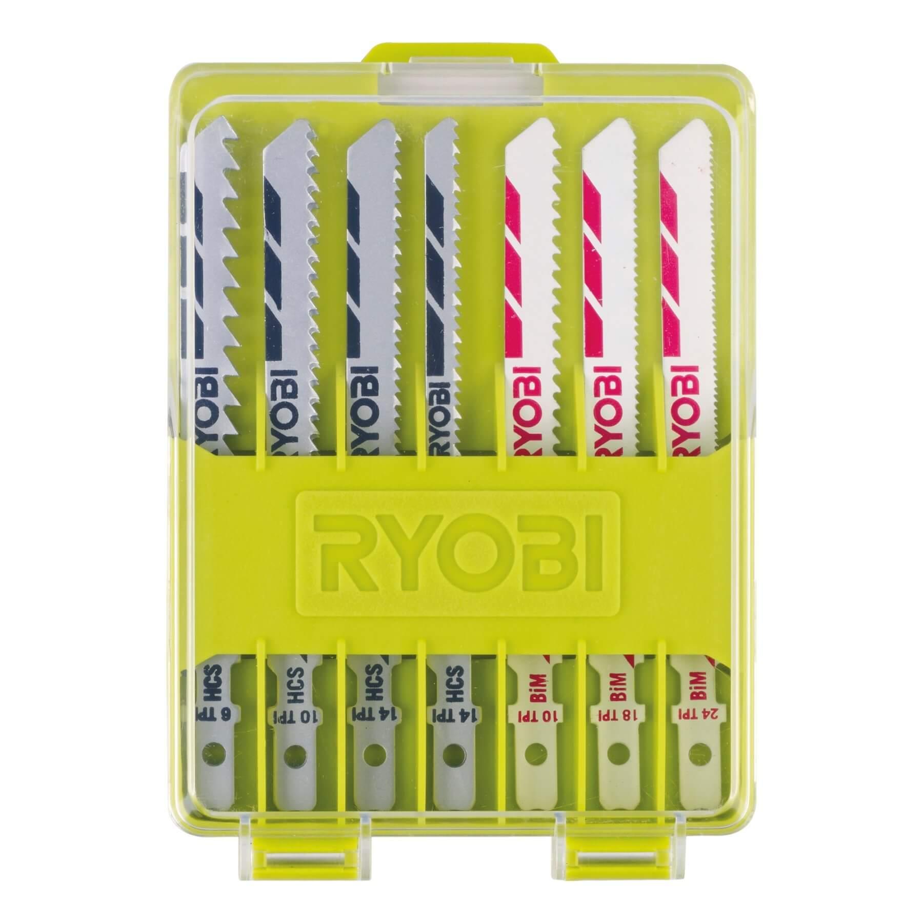 Zestaw brzeszczotów do wyrzynarek Ryobi RAK10JSB