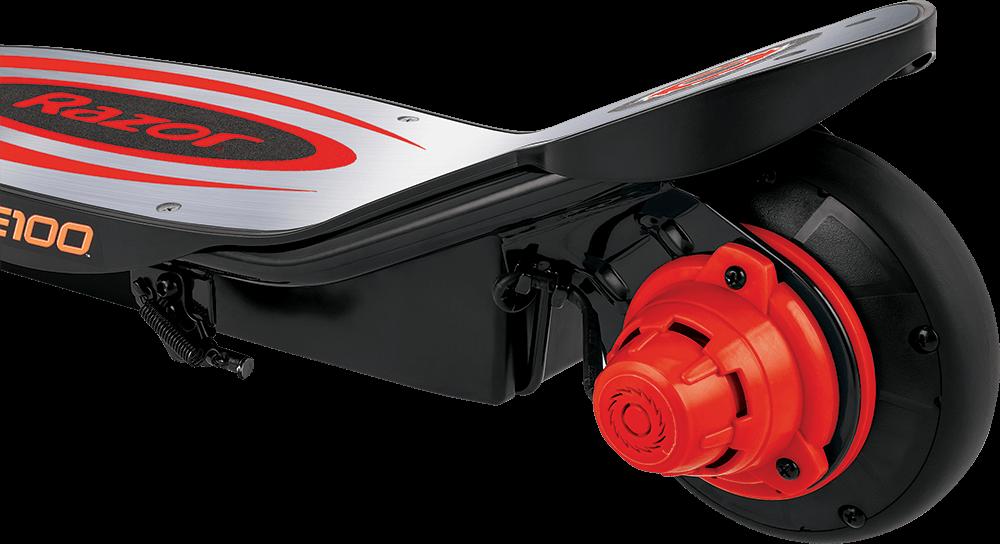 Hulajnoga elektryczna Razor E100 Power Core - Alu Czerwona