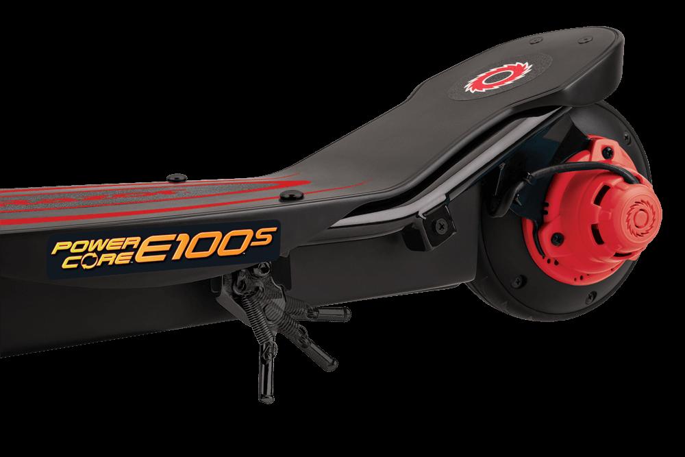 Hulajnoga elektryczna Razor E100S Power Core - Czerwona z siedziskiem