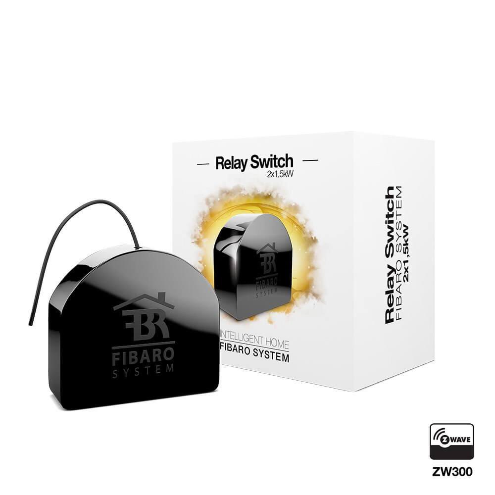 Relay Switch (Włącznik podwójny) 2x1,5kW Fibaro FGS 222