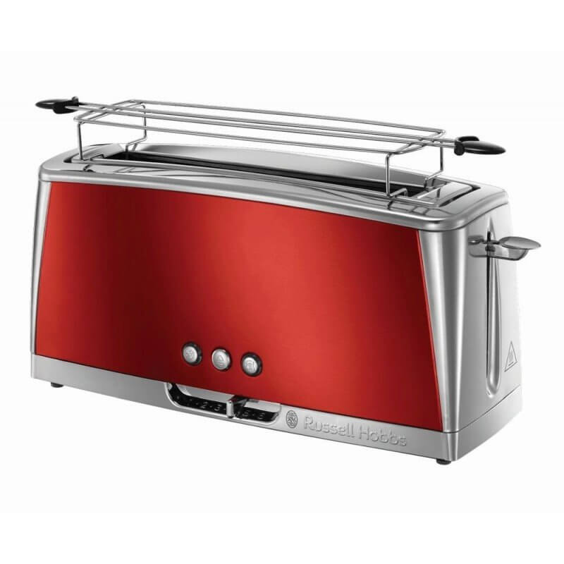 Toster Russell Hobbs Luna Solar Red Long Slot 23250-56