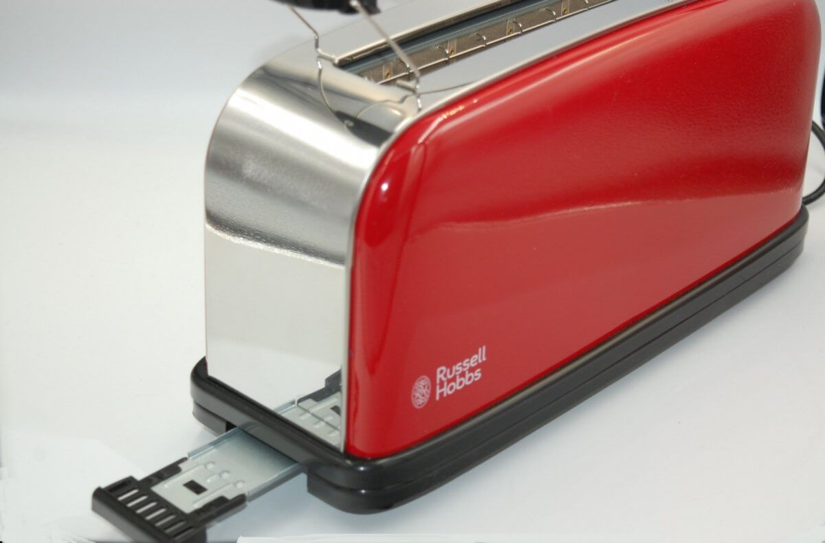 Toster Russell Hobbs Red Long Slot 21391-56