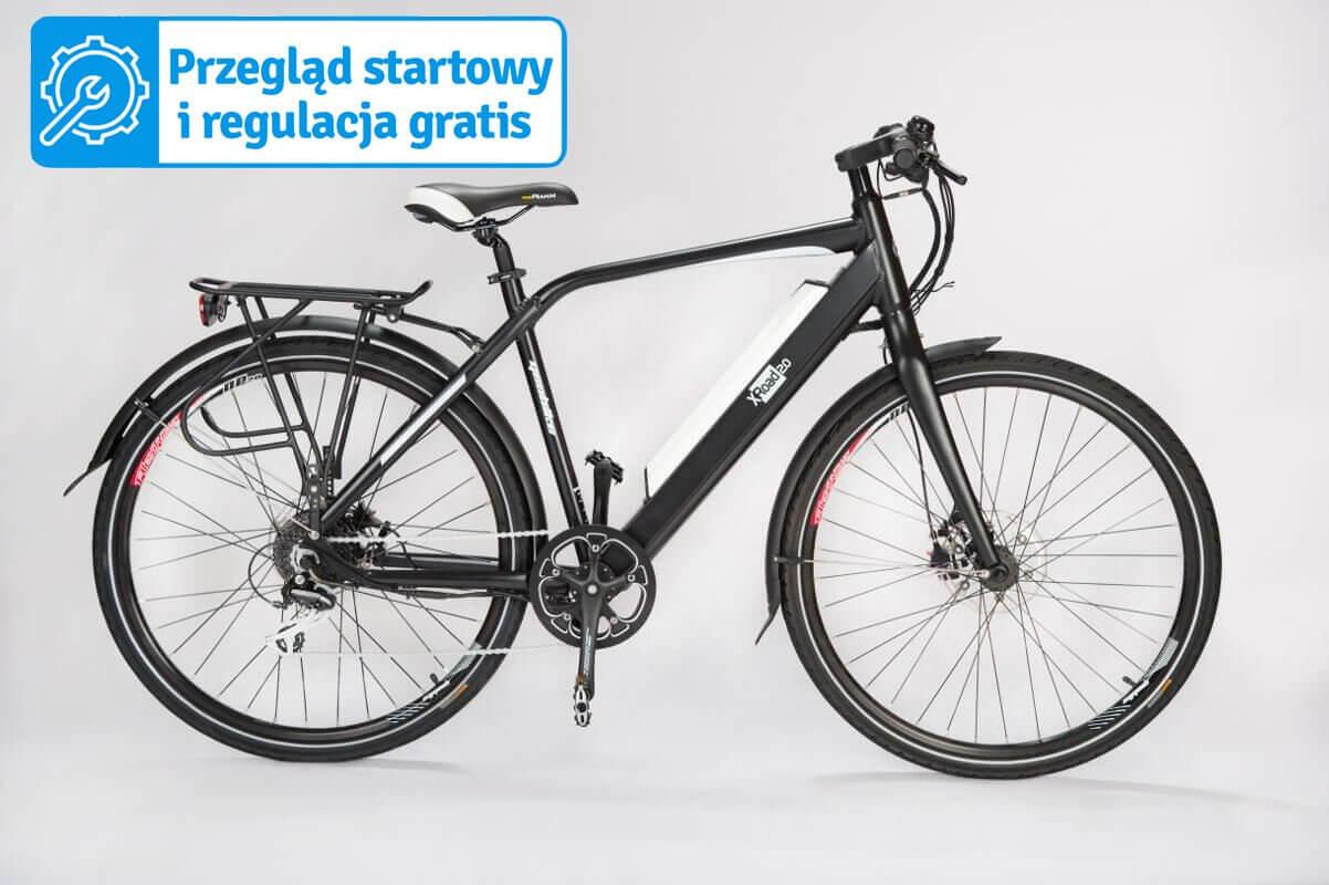 Szosowy rower elektryczny GEOBIKE X-Road 2.0 S / bateria 13 Ah
