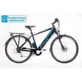 Trekkingowy rower elektryczny GEOBIKE Finisterre / bateria 11,6 Ah