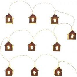 Łańcuch domki świetlne RXL 267, śnieg, 10x WW TM RETLUX