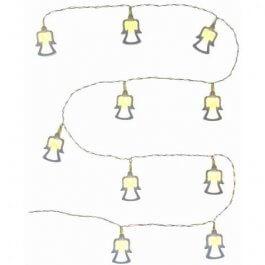Lampki 10 LED RXL 269 Drewniany anioł, 10x WW TM RETLUX