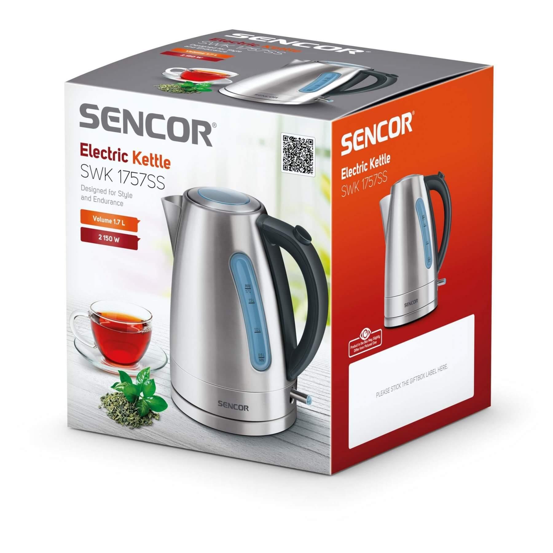 Czajnik elektryczny Sencor SWK 1757SS