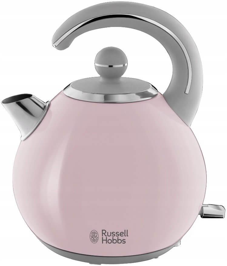 Czajnik elektryczny bezprzewodowy Russell Hobbs Bubble Soft Pink