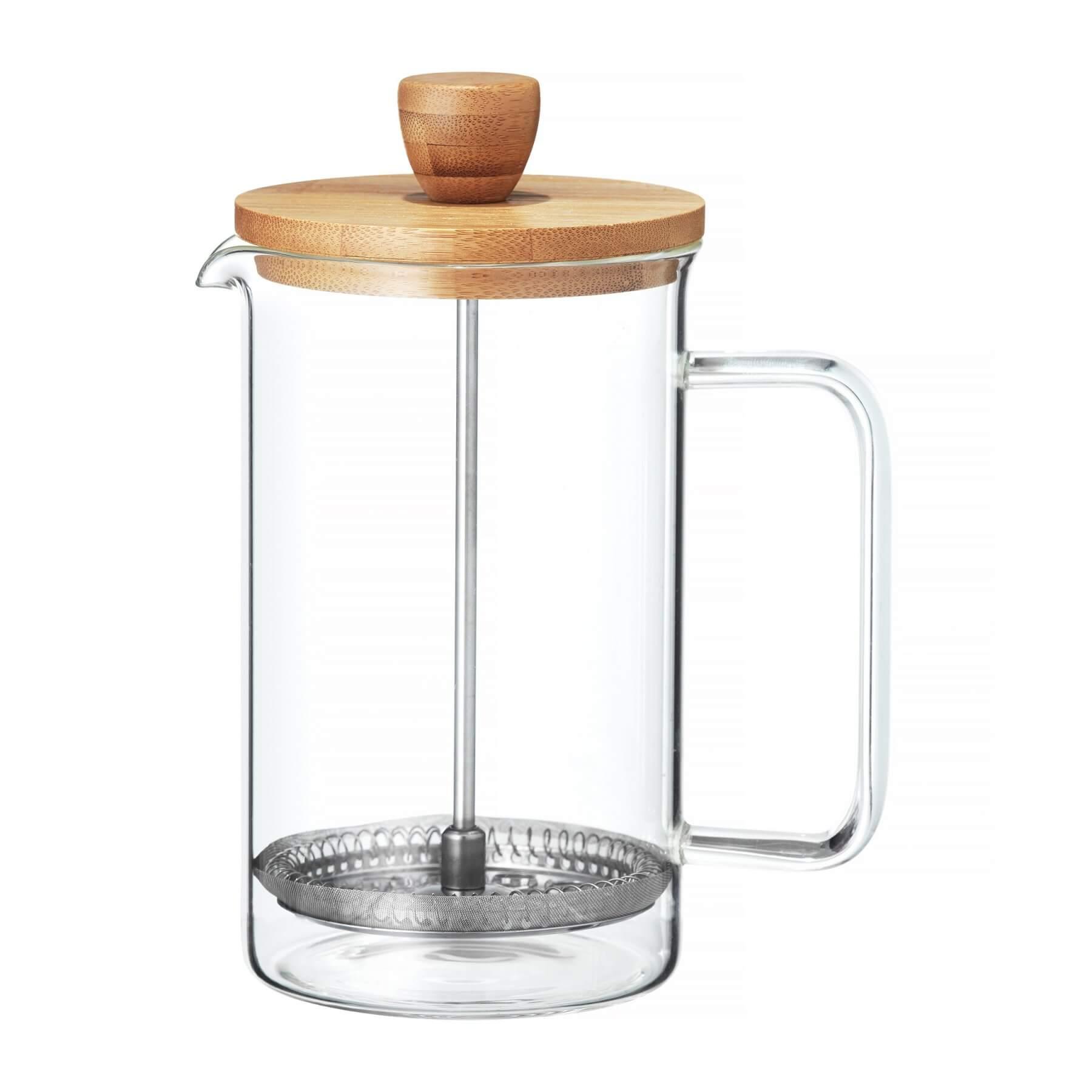 Zaparzacz szklany do kawy i herbaty 1L Nordic