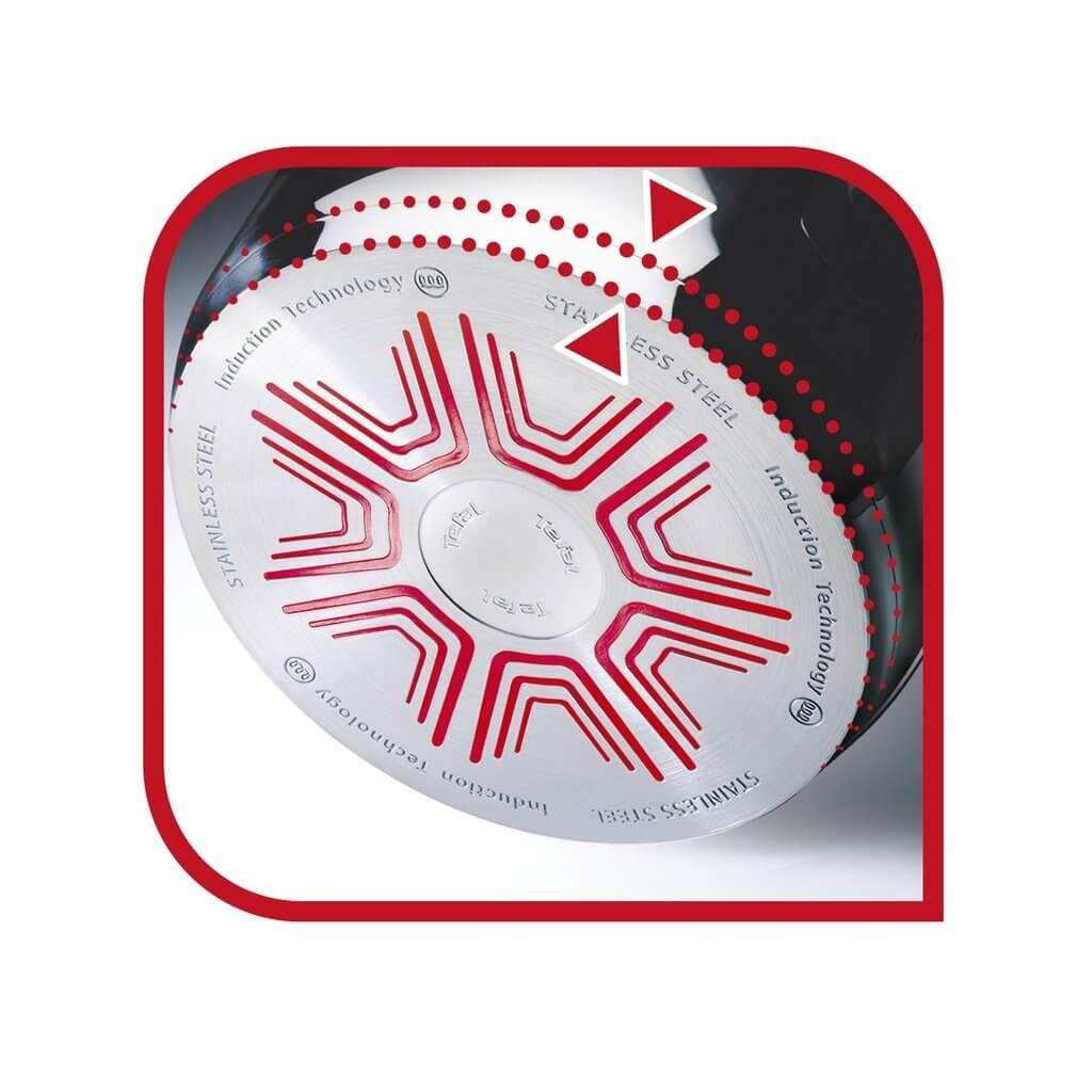 Zestaw garnków 4-elem. Tefal Ingenio Emotion Inox L9254S14