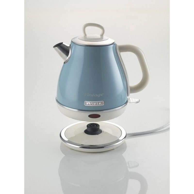 Czajnik elektryczny Ariete Vintage Piccolo 2868/05 Niebieski