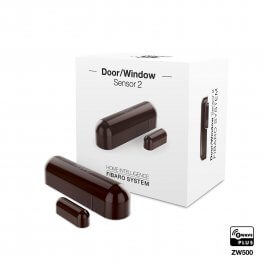Door / Window Sensor (czujnik otwarcia drzwi/okna) Fibaro FGDW-002-7 EU (ciemna czekolada)