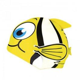Silikonowy czepek pływacki dla dzieci Spokey Marlin