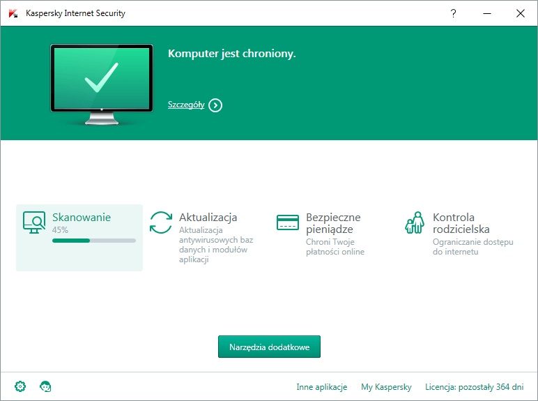 Program antywirusowy Kaspersky Internet Security Multi-Device