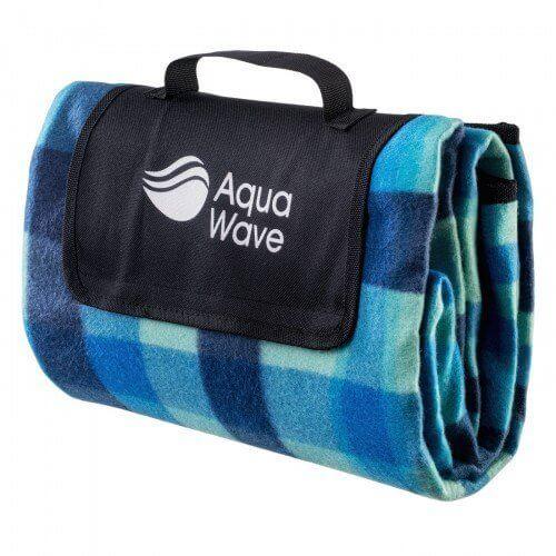 Koc piknikowy Aquawavey Chequa Blanket