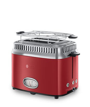 Toster Russell Hobbs Retro Ribbon Red 21680-56