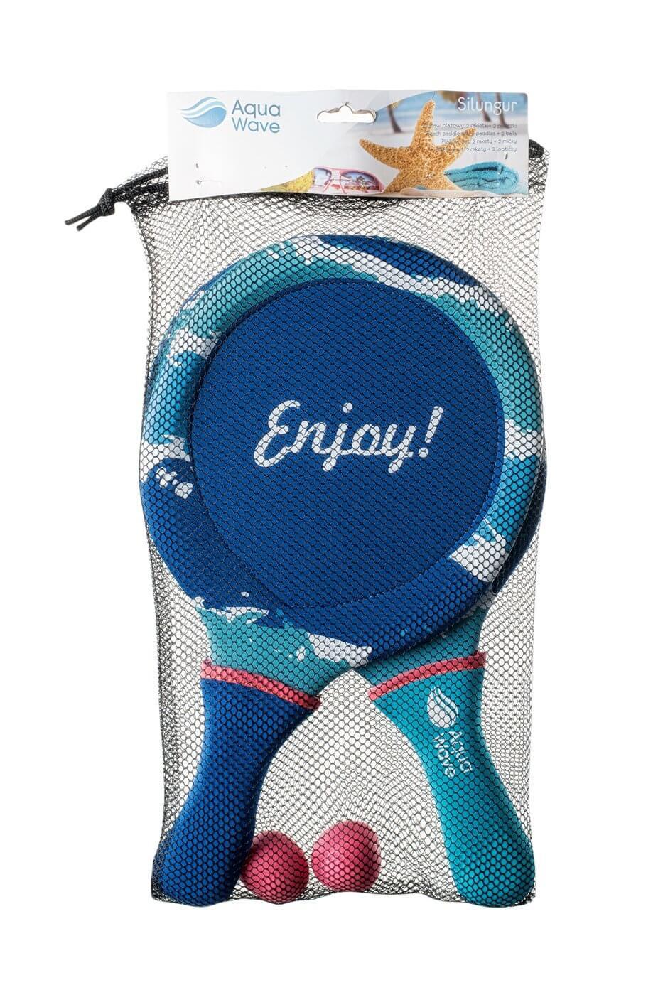 Zestaw paletek do tenisa plażowego Aquawave Silungur