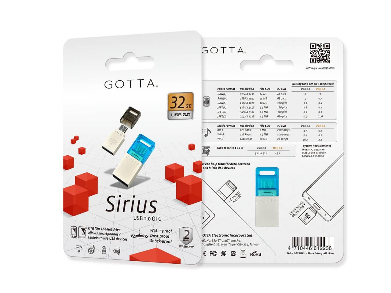 Dysk USB Gotta Sirius 32 GB