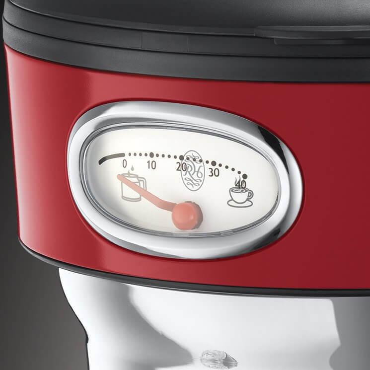 Ekspres do kawy Russell Hobbs Retro Ribbon Red 21700-56