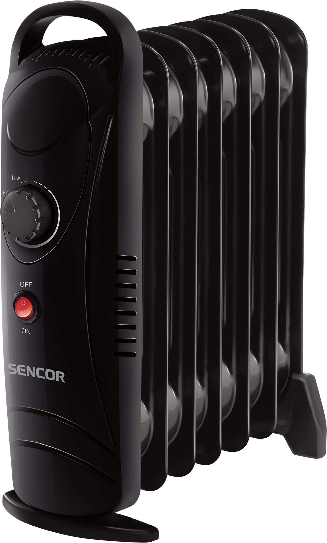 Elektryczny grzejnik olejowy Sencor SOH 2107BK