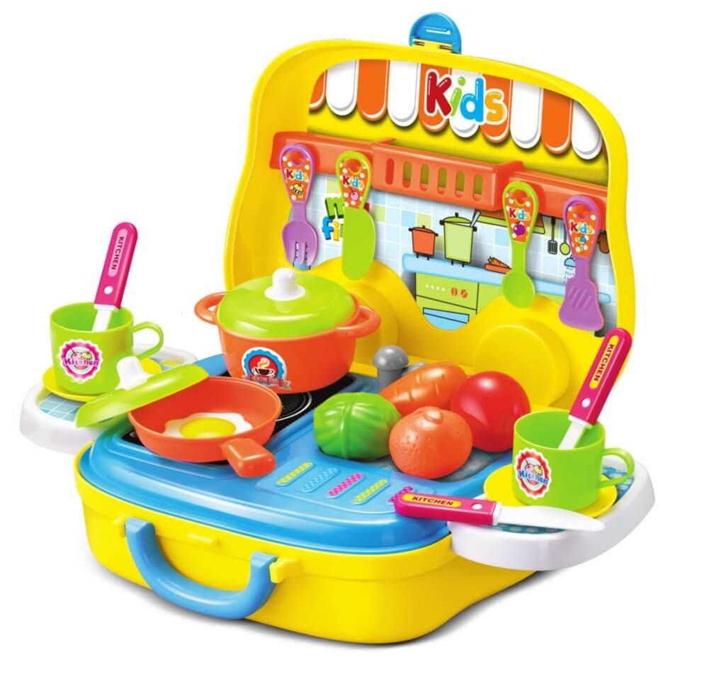 Zestaw kuchnia w walizce Buddy Toys