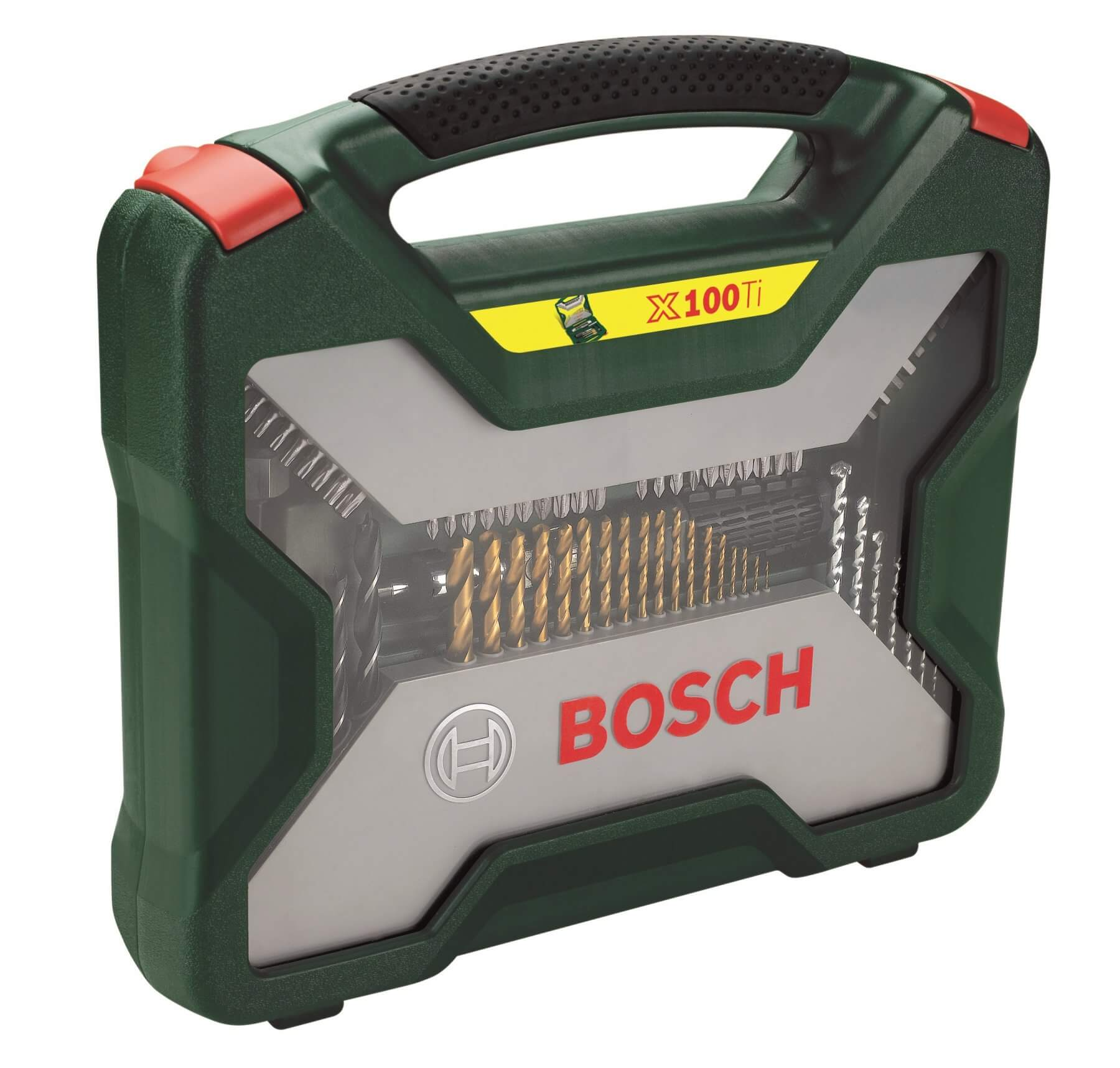 Osprzęt do wiertarek / wkrętarek 100-częściowy zestaw Bosch X-Line Titanium