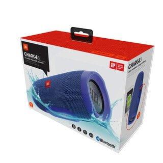 Przenośny głośnik Bluetooth JBL Charge 3 niebieski