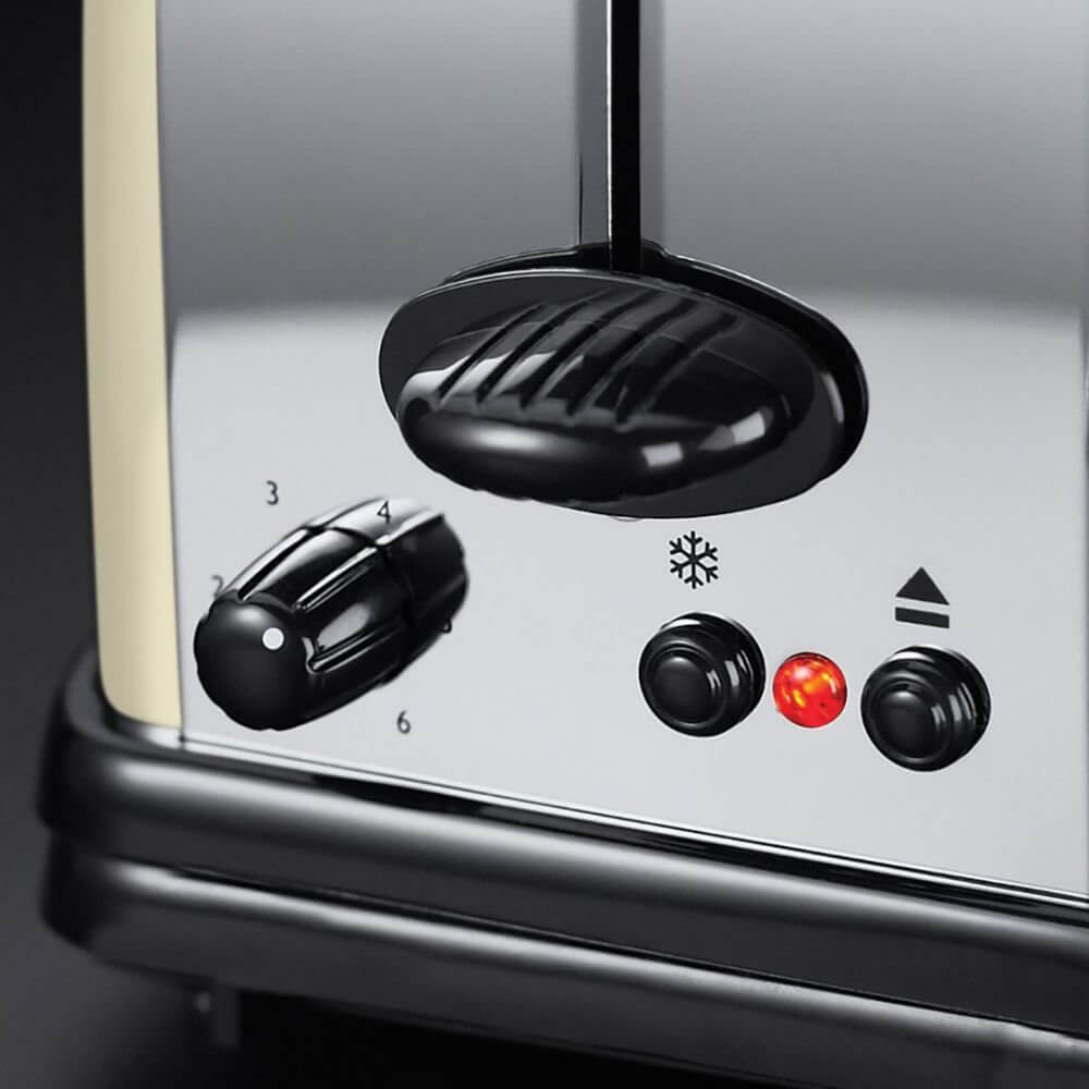 Toster Russell Hobbs Colours Classic Cream Long Slot 21395-56