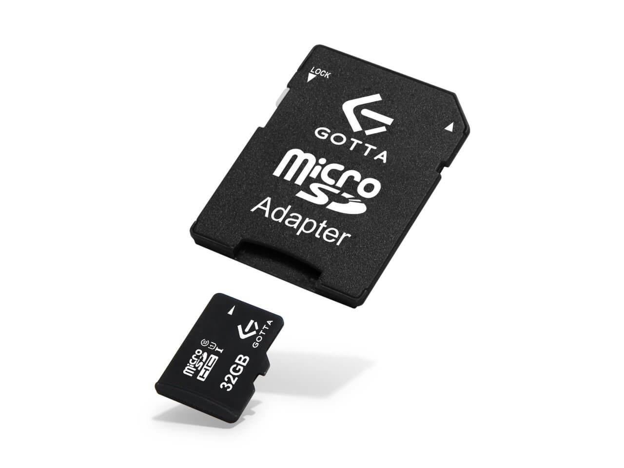Karta pamięci micro SD Gotta 32 GB Class 10 + adapter