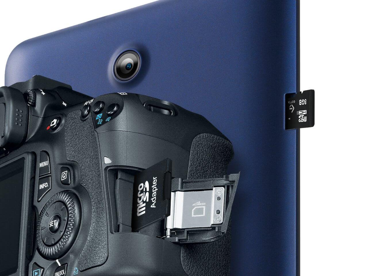 Karta pamięci micro SD 8 GB Class 4 + adapter