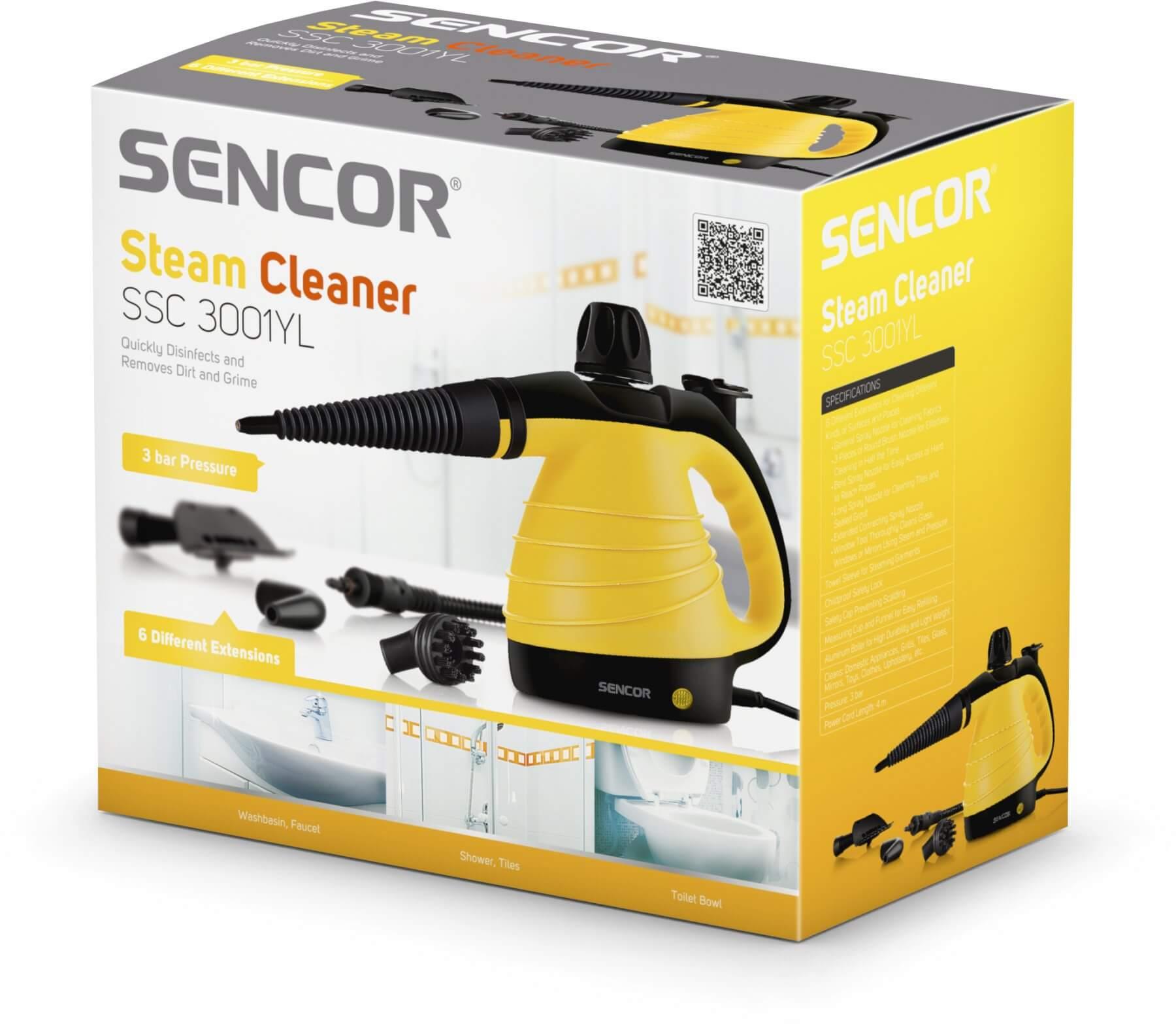 Oczyszczacz parowy Sencor SSC 3001YL